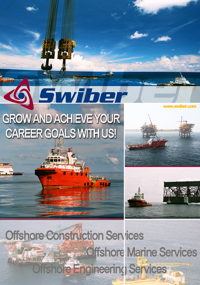 Job Openings :: Swiber Limited